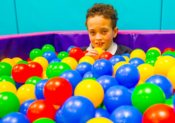 Pupil in soft play