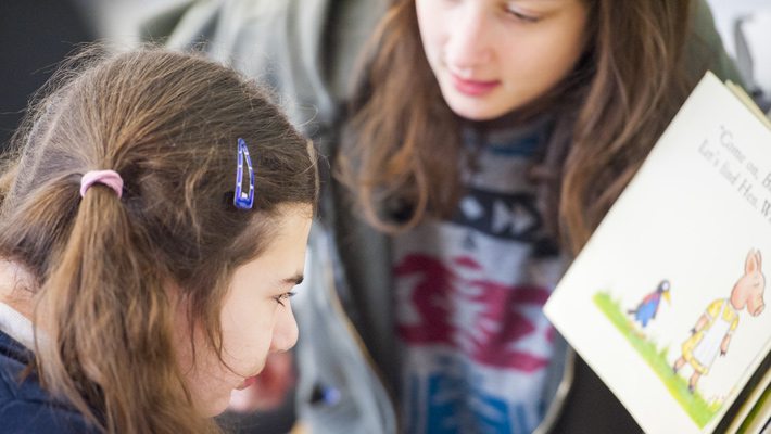BeyondAutism Schools pupil reading