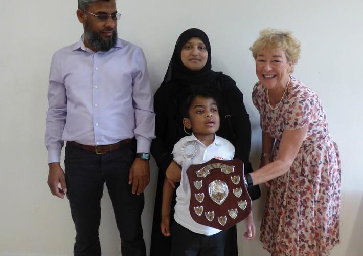 Karen Sorab Award winner - student