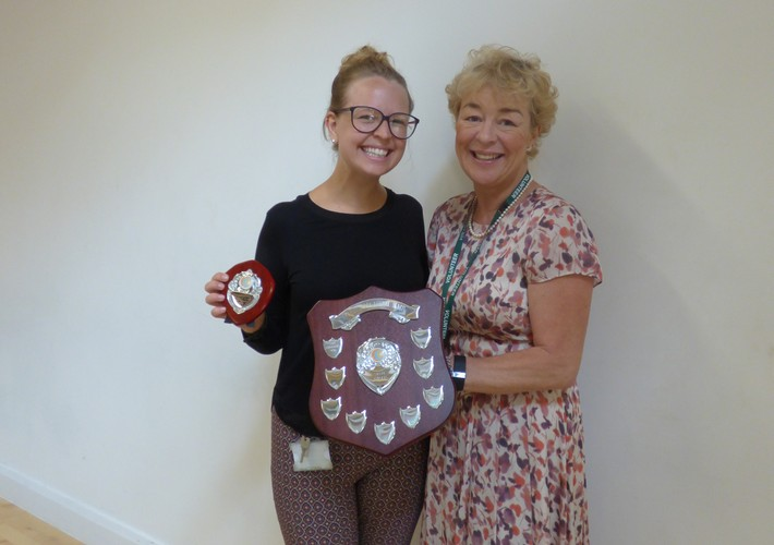 Karen Sorab Award winner - staff