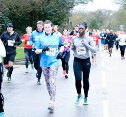 Tracie Linehan Runs the Marathon