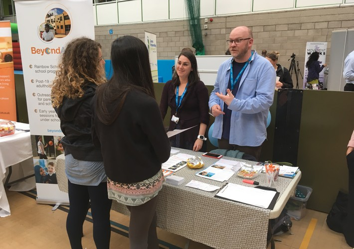 Staff at the Wandsworth Autism Fayre
