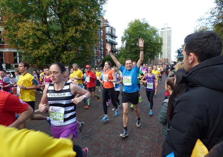 Royal Parks Half Marathon runner
