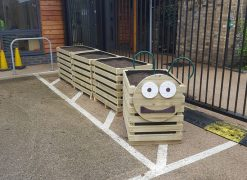 Park House School flowerbed project