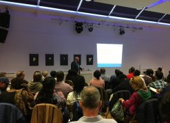 Head of Post-19, David Anthony, speaks at Yarrow Housing's Registered Manager's Network meeting