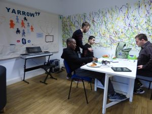 Post-19 learners at the Yarrow hub