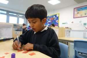 Pupil learning in a classroom