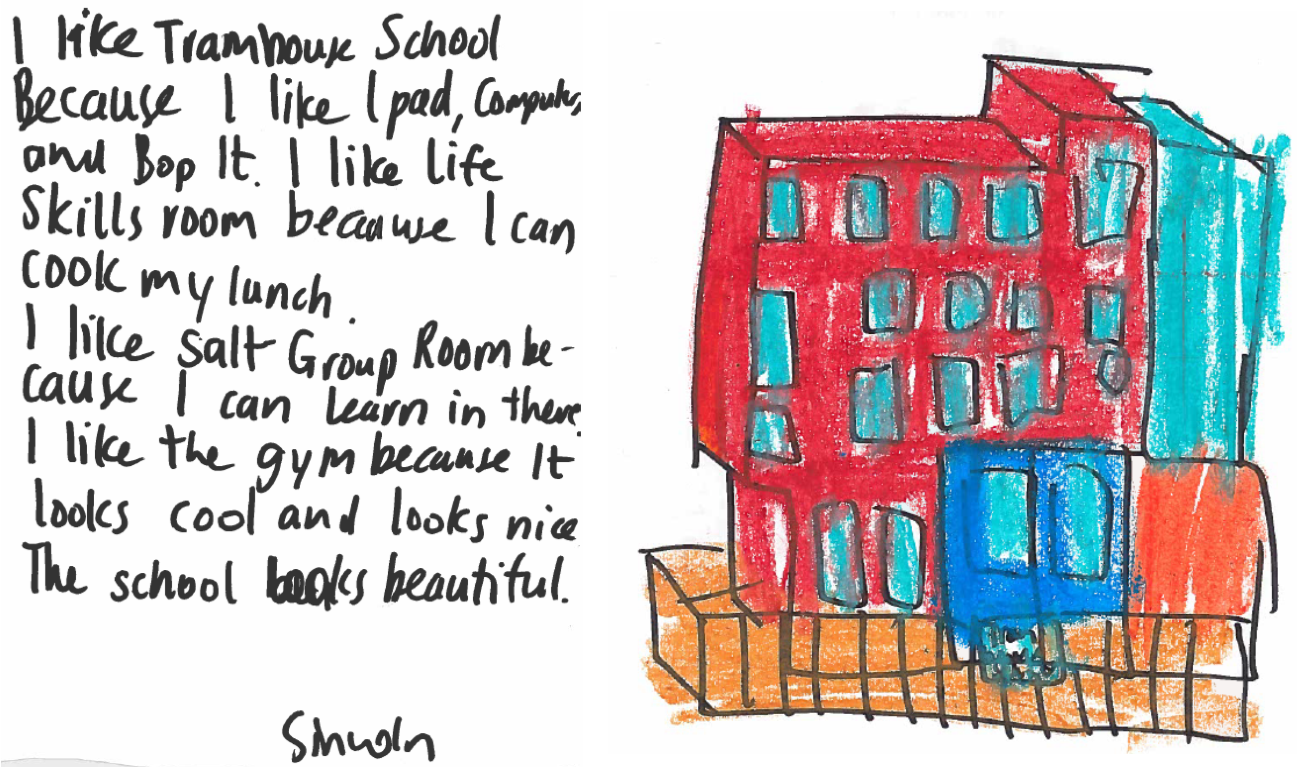 Tram House School - from a pupil's perspective