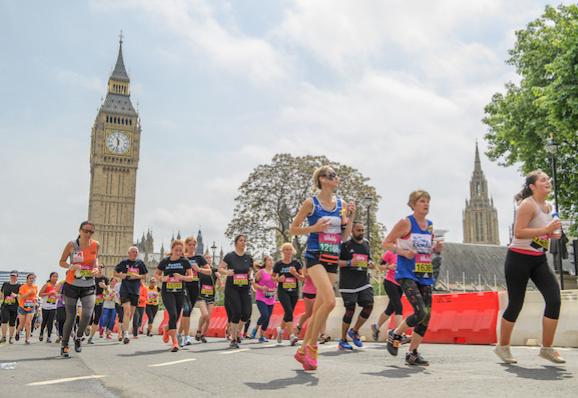 Runners in the Vitality 10km