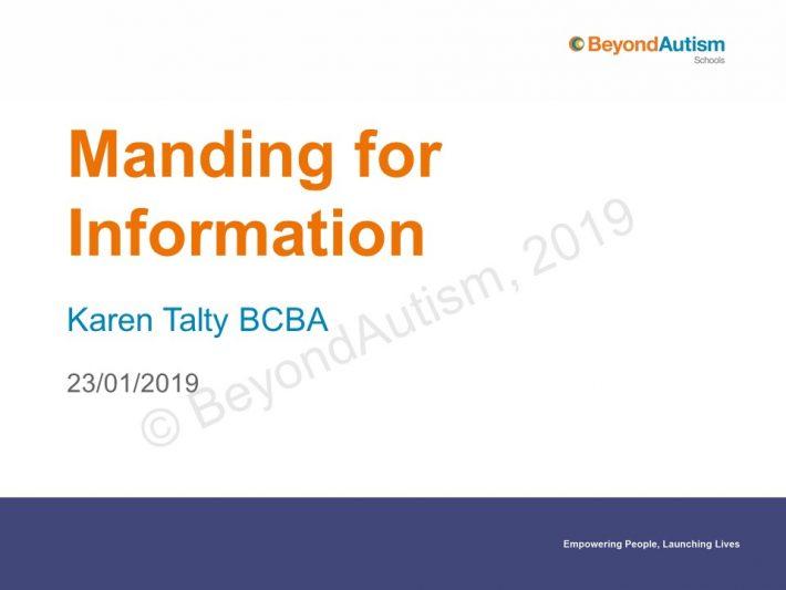 Manding presentation