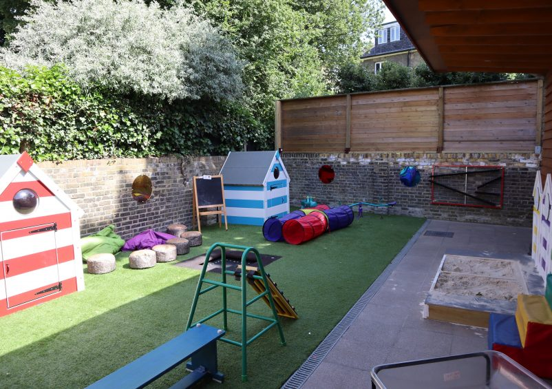 The new sensory garden