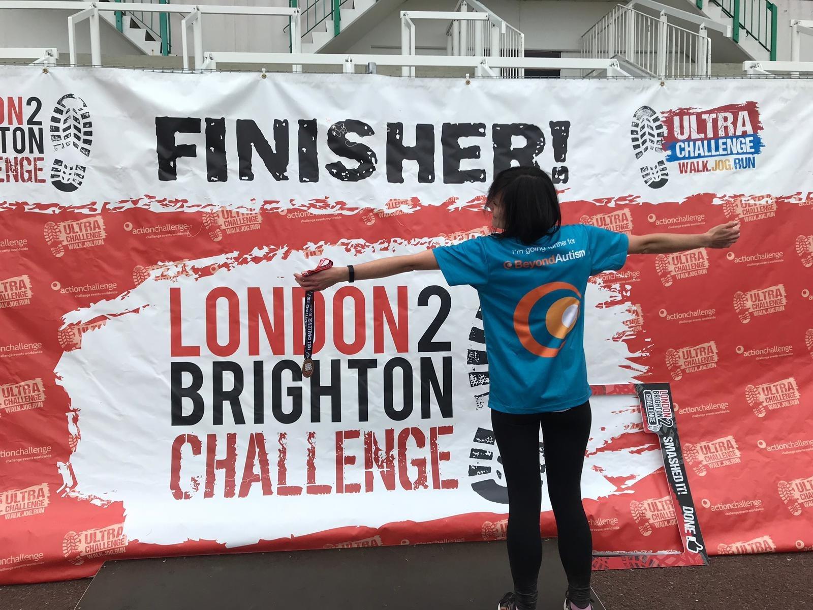 London 2 Brighton finisher