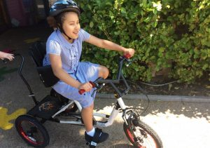 Sport England grant gets pupils on their bikes!