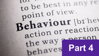 Behaviour analysis course: part 4