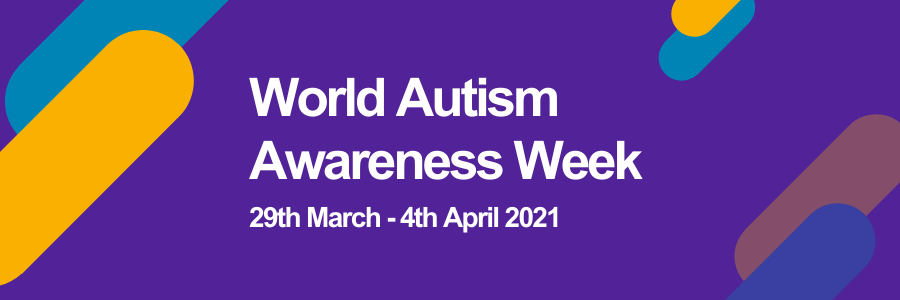 World autism awareness week banner