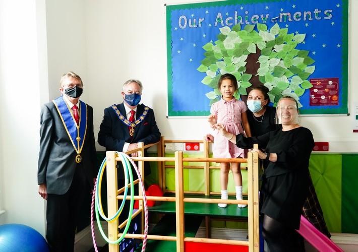 Masonic Charitable Foundation visit Early Years