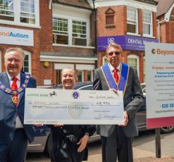 Masonic boost for Early Years' service