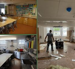 Park House School kitchen renovation